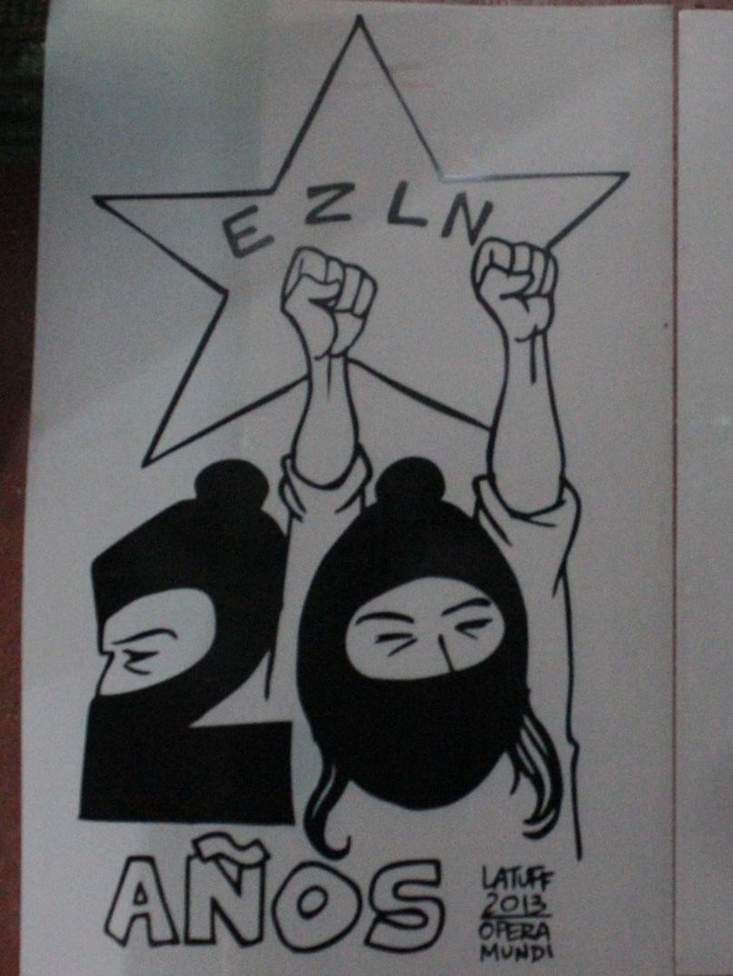 EZLN 20 Años Latuff