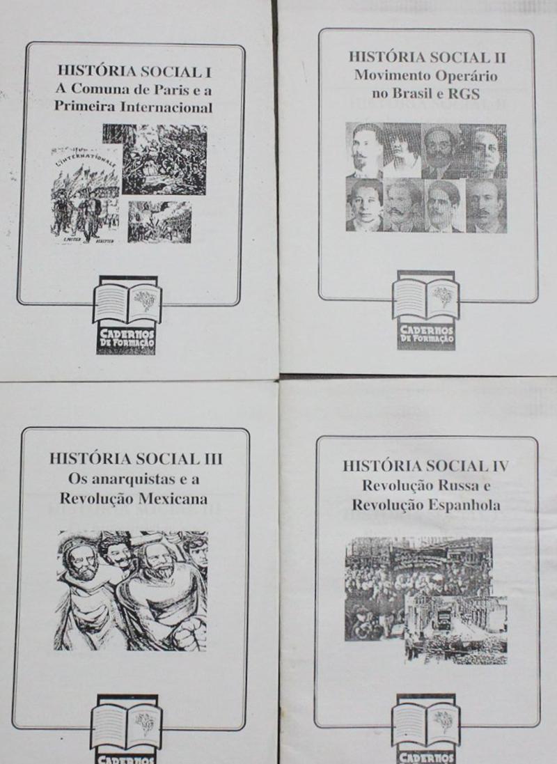 História Social I, II, III, IV - Cadernos de formação