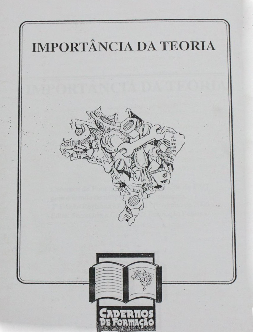 Importância da teoria - Cadernos de formação