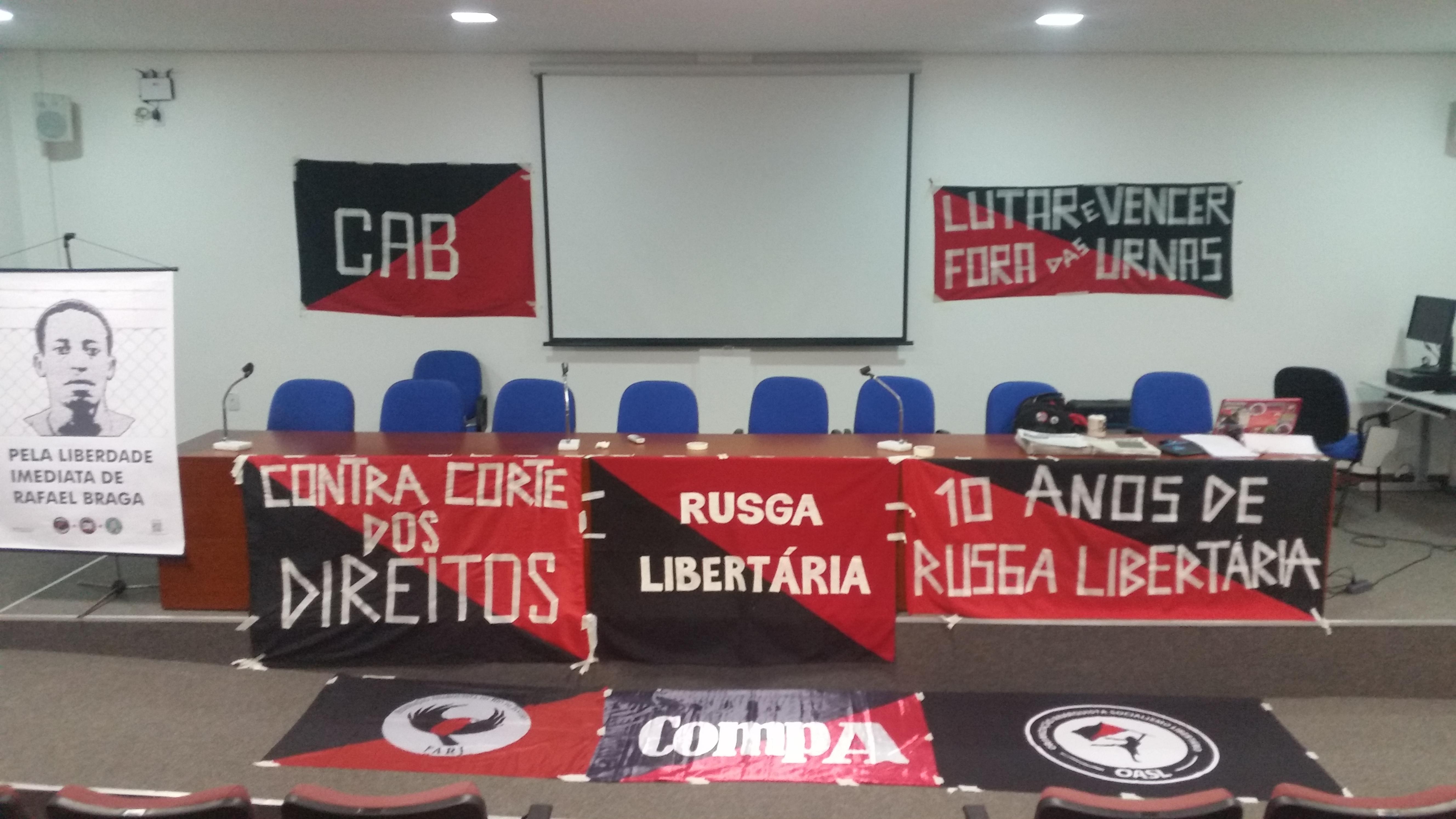 10 anos Rusga Libertária e 3° Encontro Regional Centro-oeste/Sudeste da CAB